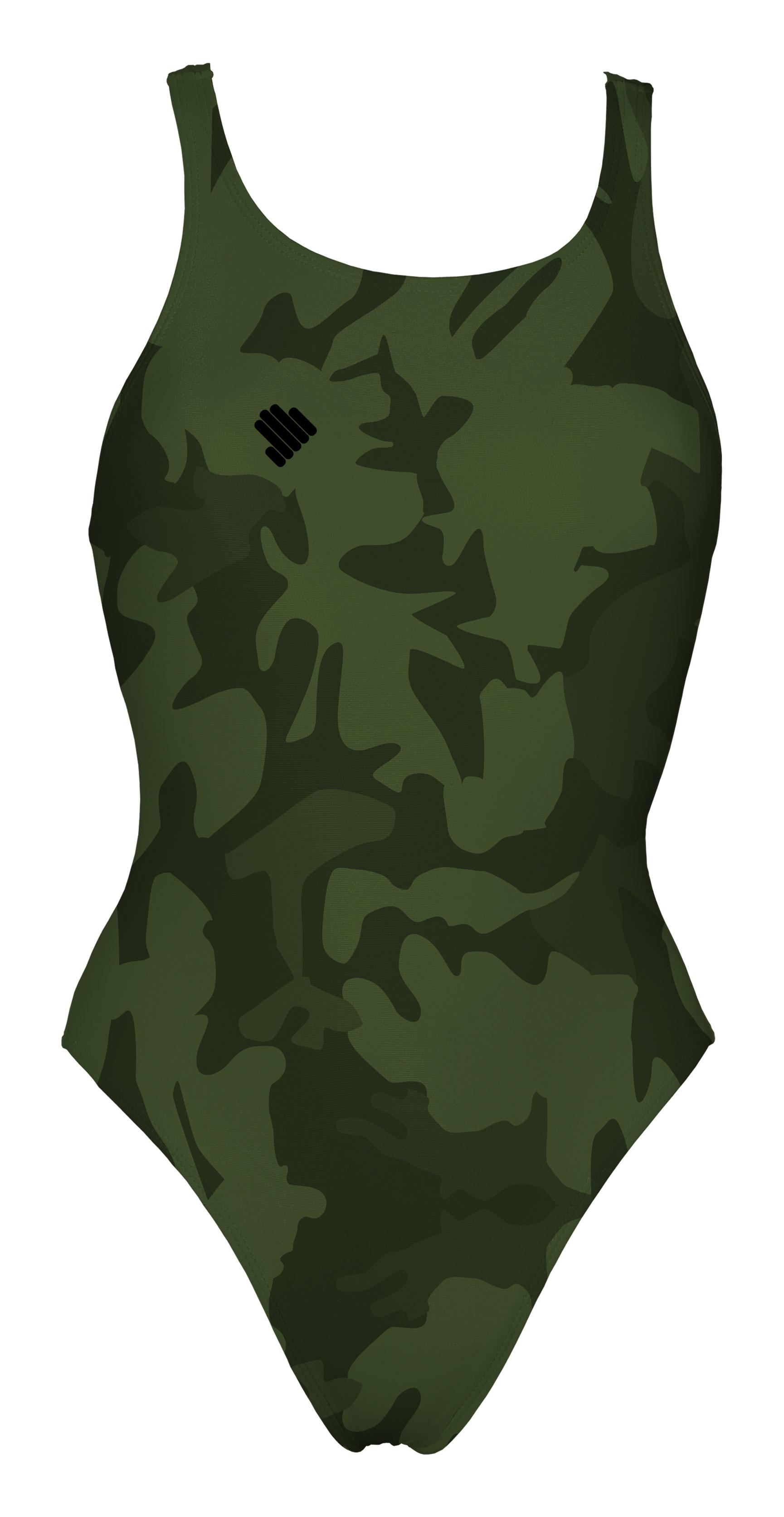 Fato de Banho  Verde Tropa Camuflado DURABLE