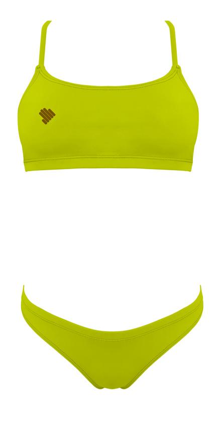 Sunkini Amarelo mostarda de atar