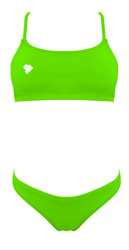 Sunkini Verde neon de atar