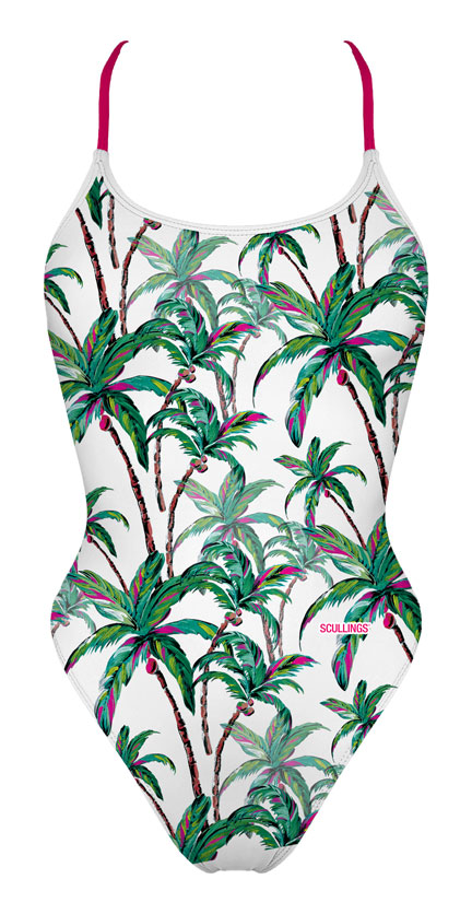 Tie Back Coconut tree Swimsuit