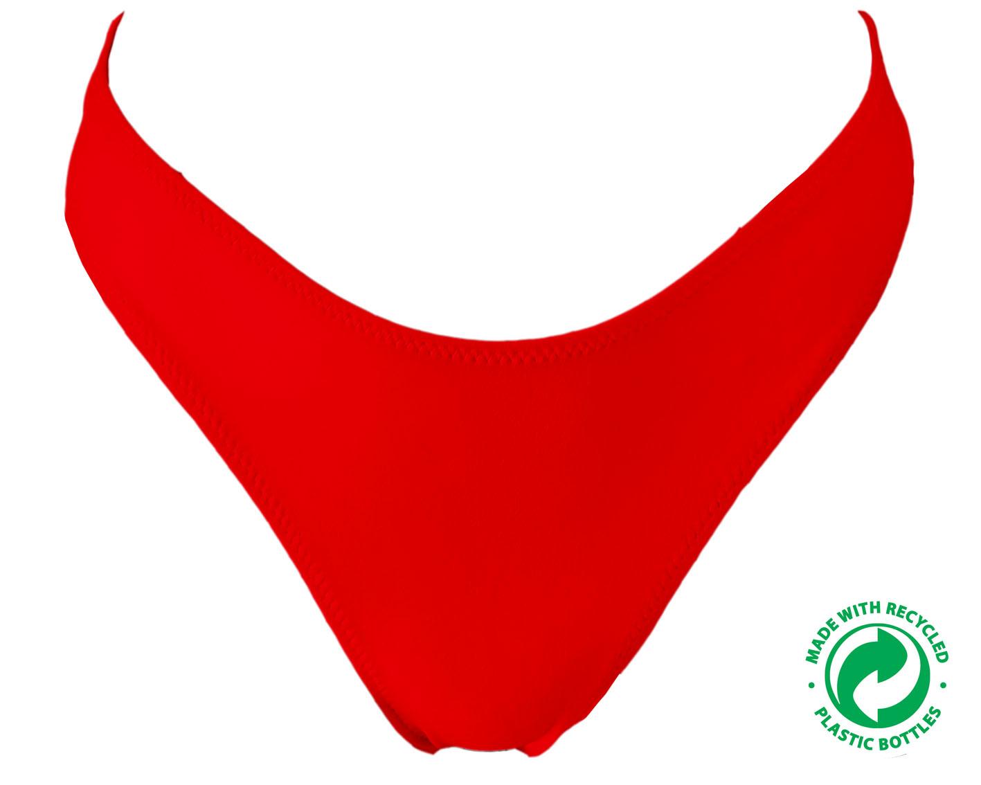 Cueca Bikini Vermelha ECO