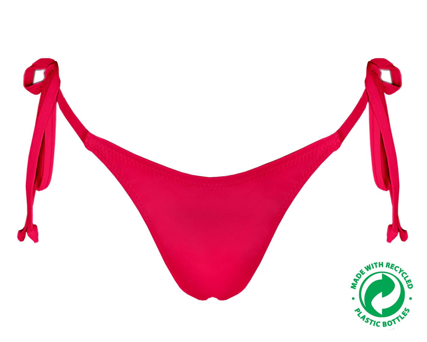Cueca Bikini Atar Rosa Shock ECO
