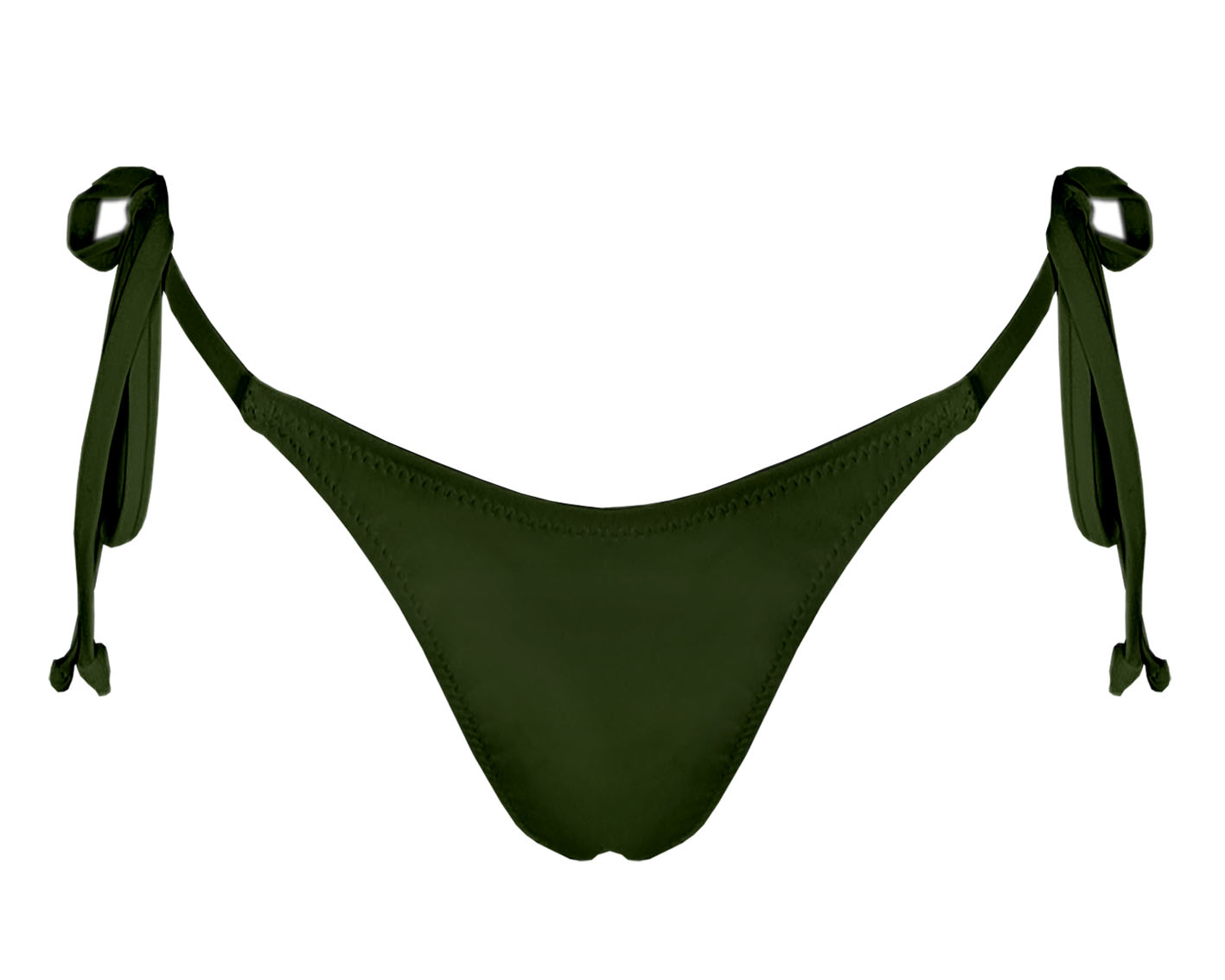 Cueca Bikini Atar Verde Tropa